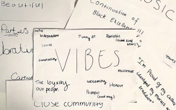 Words describing what makes students proud of their culture.
