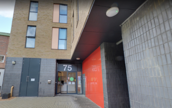 75 Penrhyn Road, the student accommodation currently undergoing maintenance
