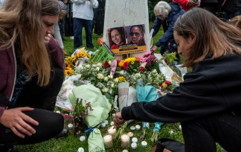 Vigil in remembrance of two girls who died to femicide
